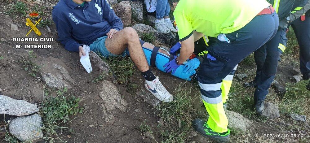 Rescatados 7 menores senderistas en la Sierra de San Vicente
