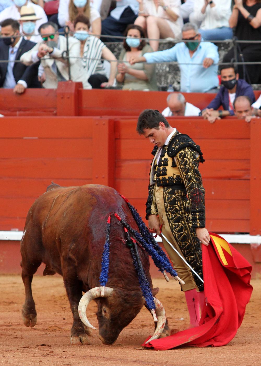 Daniel Luque rubricó una importante actuación en Aranjuez