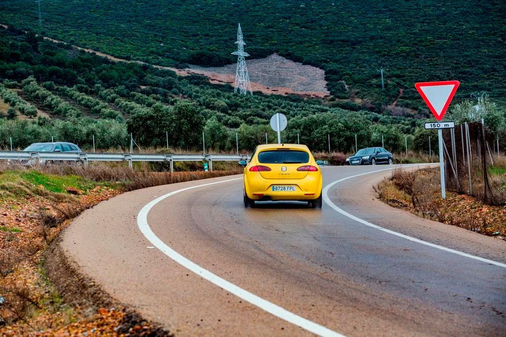 Las carreteras más transitadas, en la comarca de Puertollano