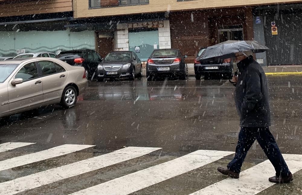 La nieve llega a Talavera
