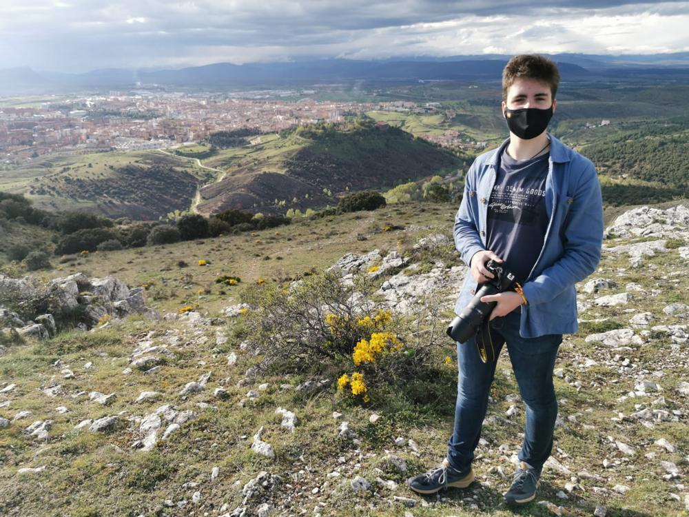 Adrián Muñoz, el joven soriano que más sabe de Geografía