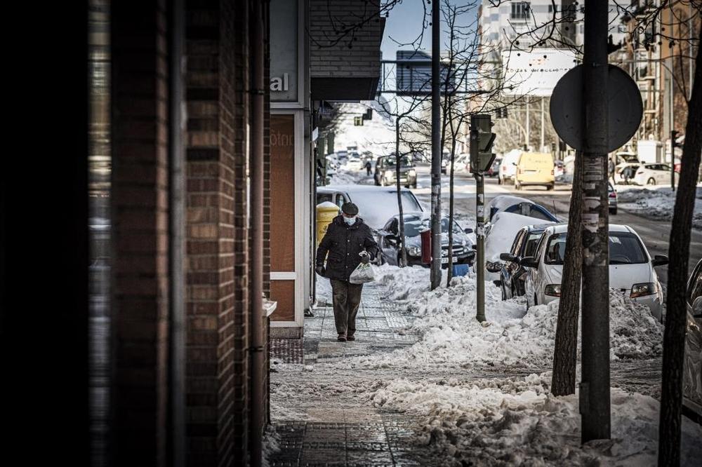 La BRIF se suma a las tareas de retirada de hielo y nieve