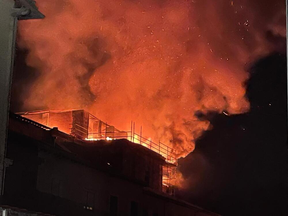 Nuevo incendio en el Monasterio de Alconada de Ampudia
