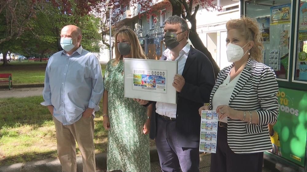 La ONCE presenta un cupón dedicado a la hostelería