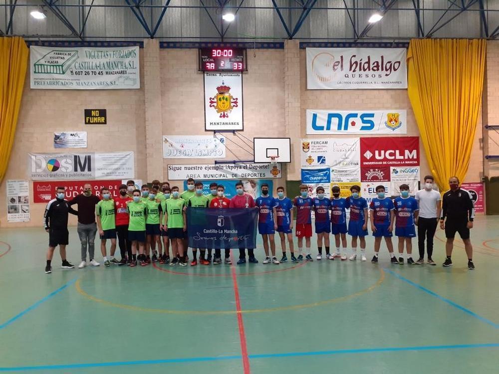 Cátedra 70 y Deportivo Retamar jugaron la final de consolación cadete masculina.