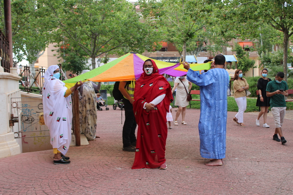 Tarancón, con la emergencia saharaui