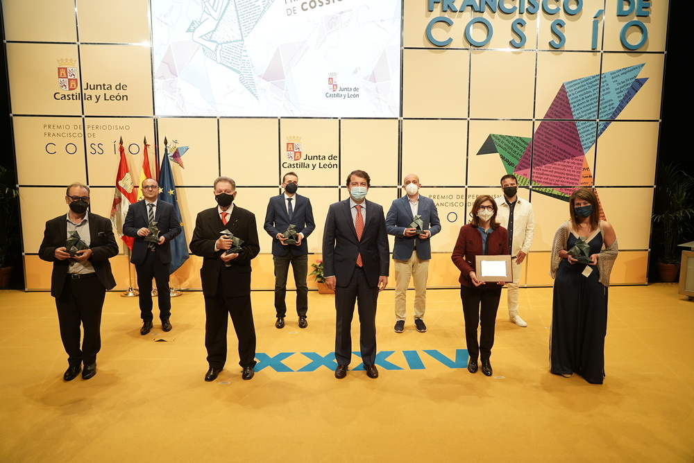 Entrega del XXXIV Premio de Periodismo Francisco de Cossío