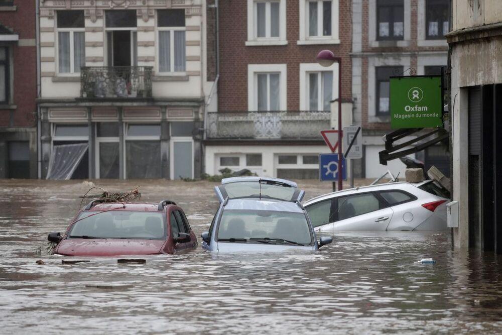 Seis fallecidos en las inundaciones en Bélgica