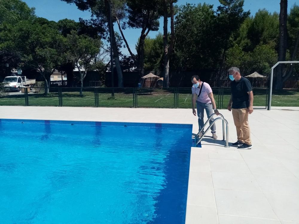 Cuenta atrás para la apertura de la piscina de Herencia