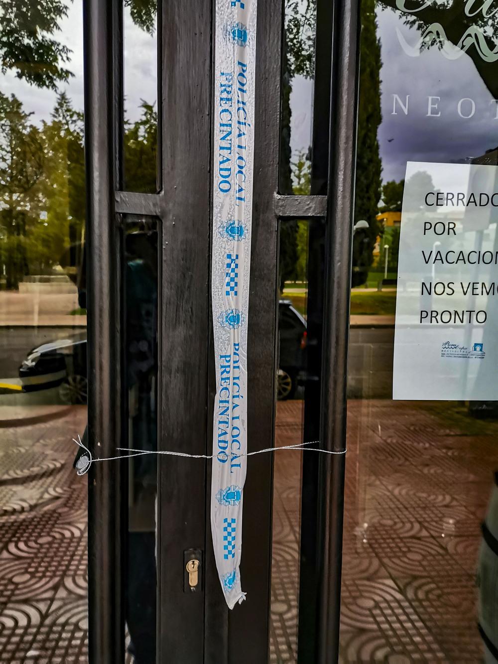 Sanidad clausura un local de hostelería en Ciudad Real