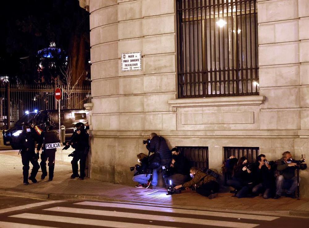 Los disturbios en Pamplona dejan dos personas detenidas