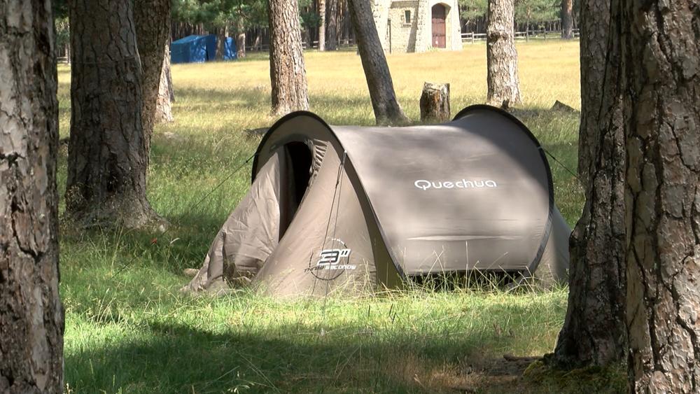 Campamentos con tienda para aislamientos preventivos covid