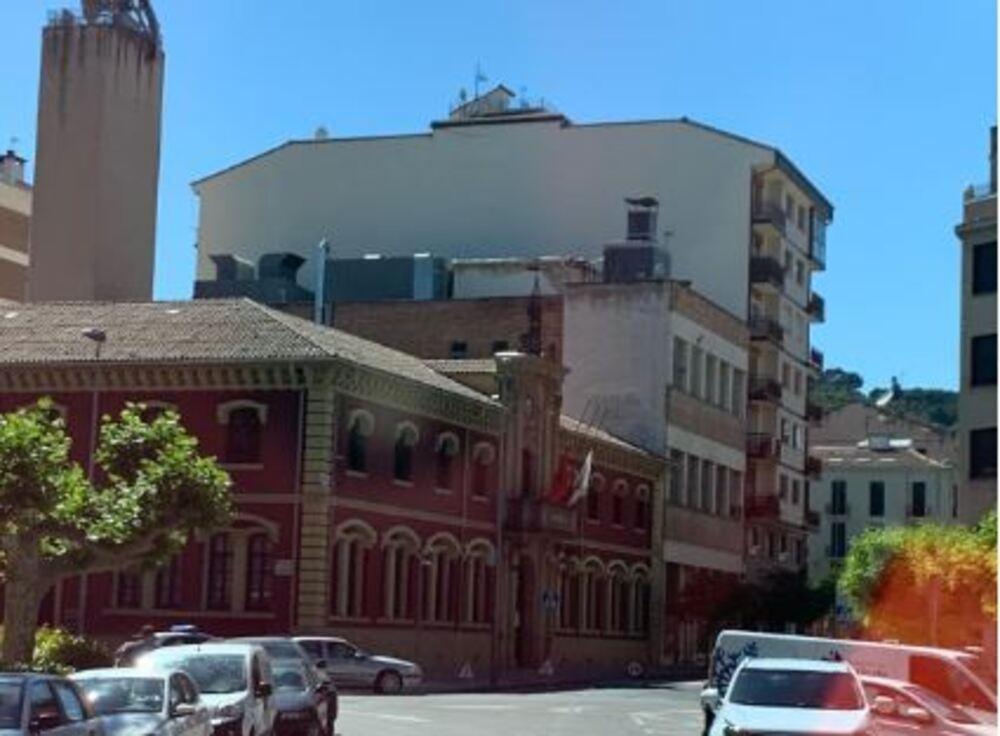 El Ayuntamiento de Estella.