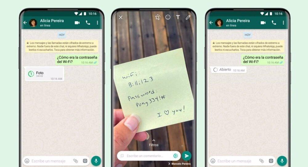 WhatsApp incorpora el borrado de fotos automático