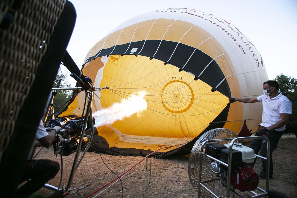 Un viaje en globo: volar para ver magia