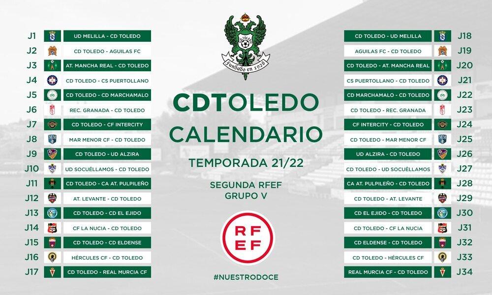 El CD Toledo se estrenará en Melilla