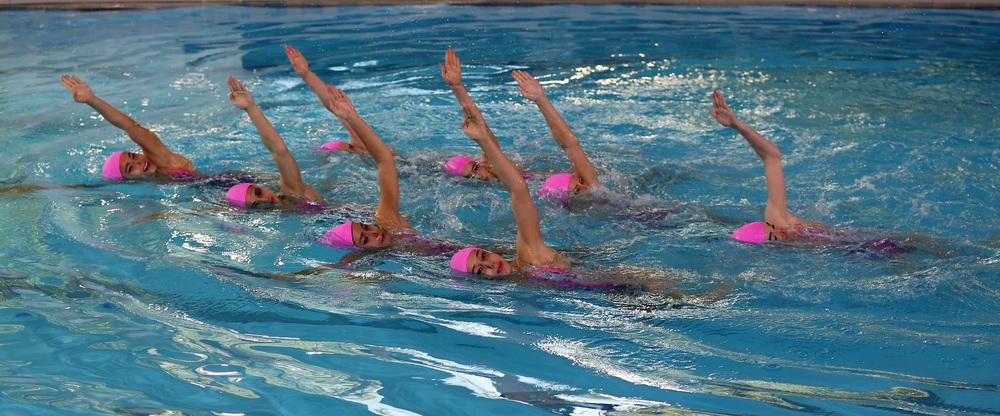 Campeonato de España de verano de natación artística alevín, junior y absoluto.