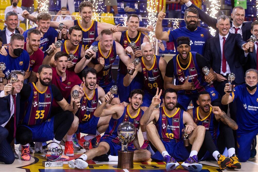 El Barça, campeón de la Liga Endesa