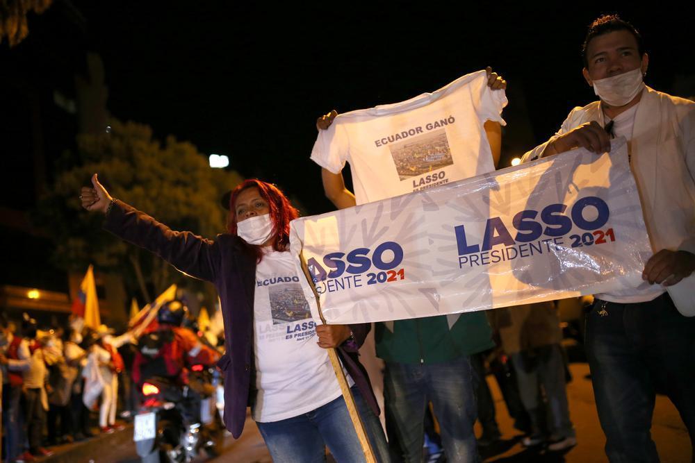 Ecuador gira a la derecha y la ultraizquierda avanza en Perú