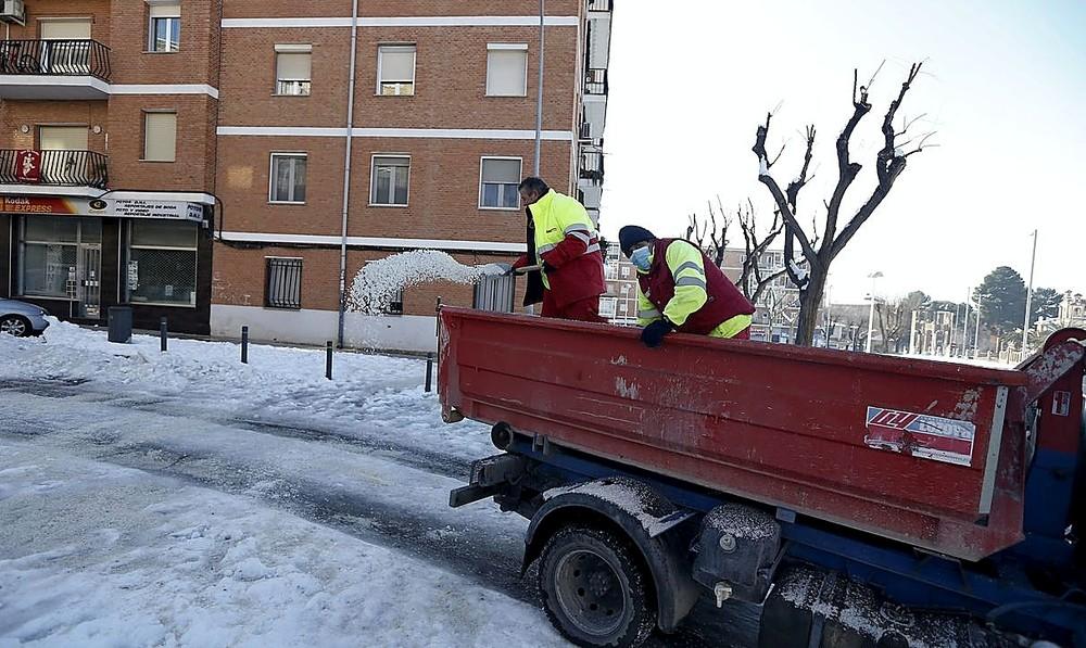 El operativo de limpieza llega a todos los barrios de Toledo