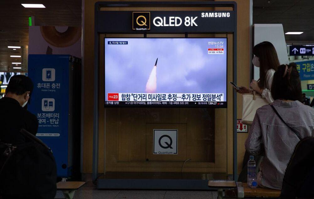 Corea del Norte lanza un