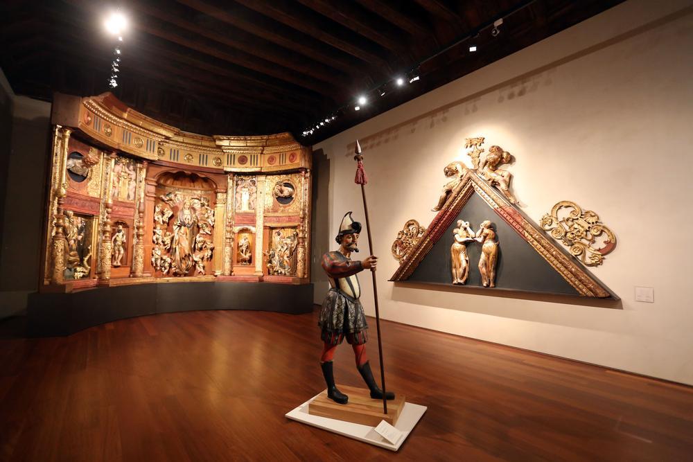 Inauguración en el Museo Nacional de Escultura de la exposición 'Grotescos verdugos'