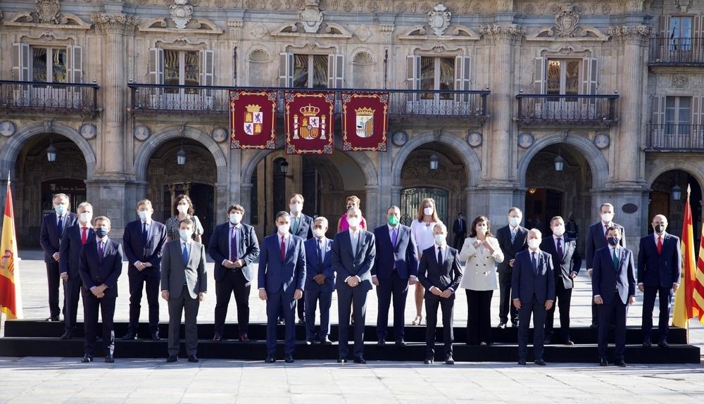 Page lleva a Salamanca la mejora de la financiación