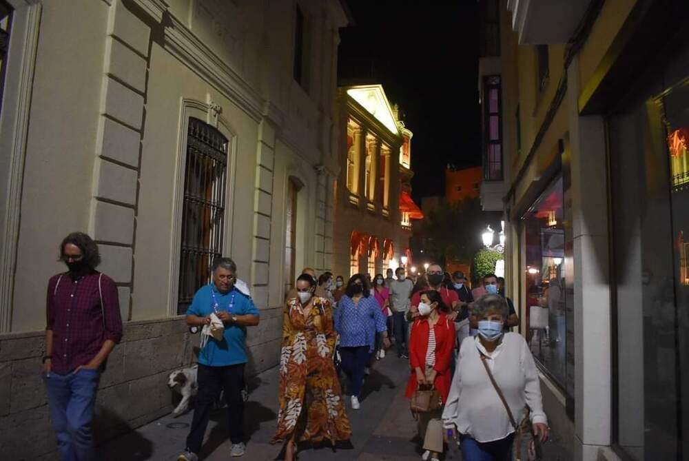 Ruta nocturna en la Semana de la Movilidad