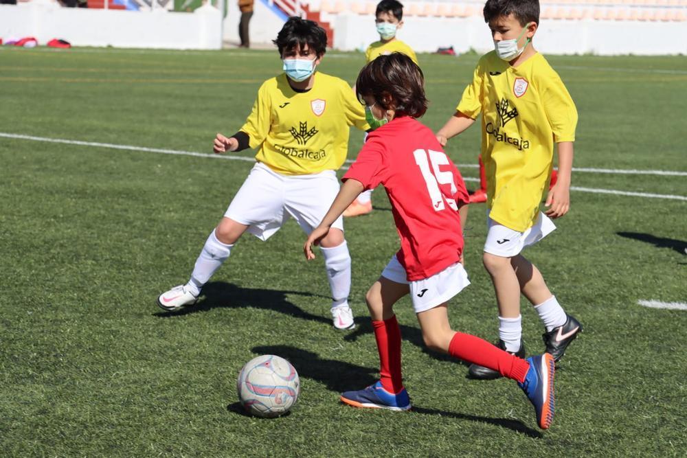 Partido entre la Escuela de Ciudad Real y el Carmen de la Liga Globalcaja.