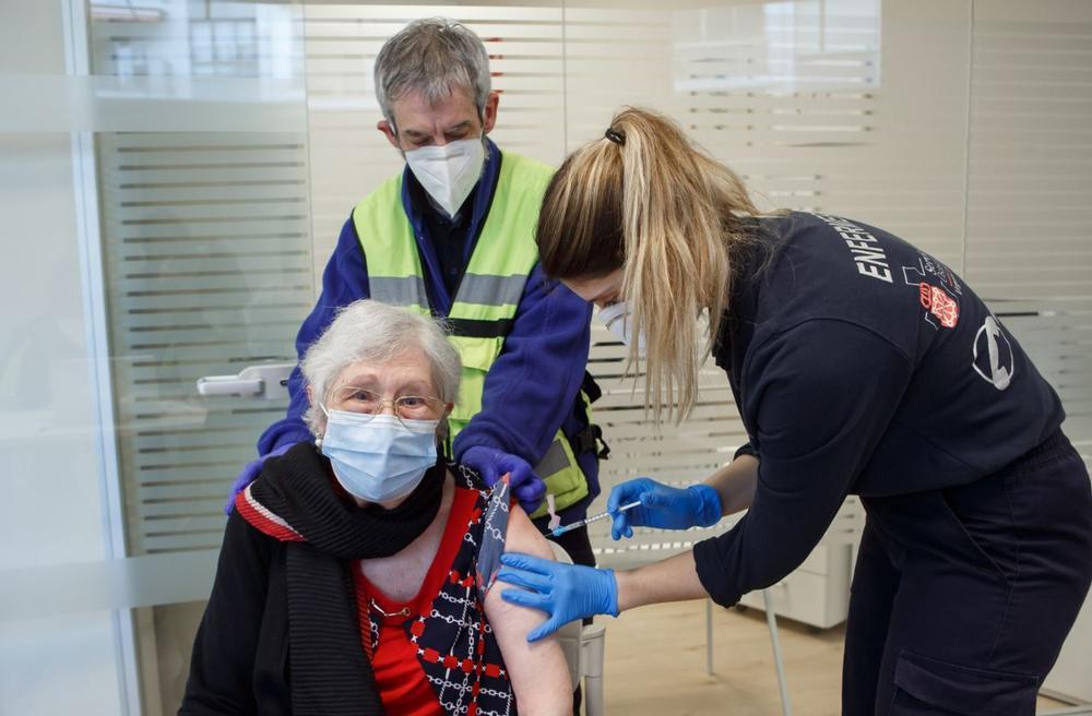 200.000 personas vacunadas con al menos una dosis en Navarra