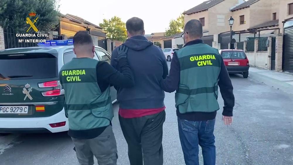 Cazan al atracador a mano armada de una gasolinera en Seseña