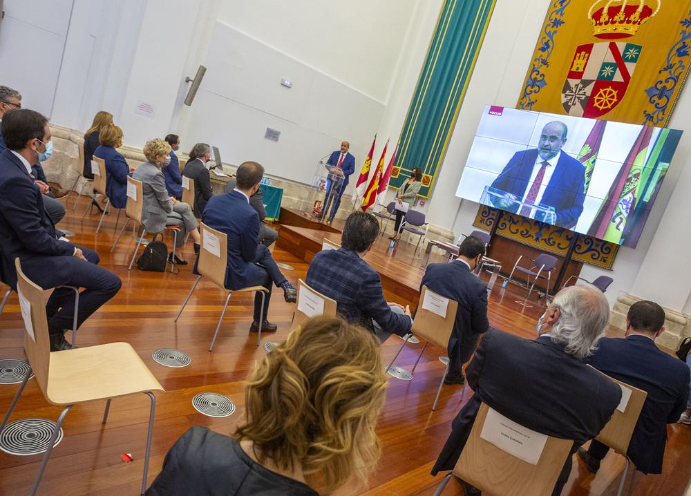 Acto de presentación de resultados del programa 'UCLM Rural'.