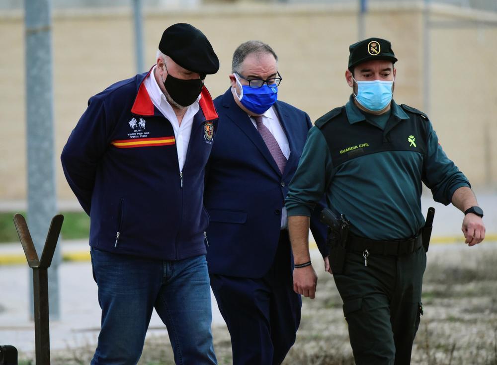 Villarejo sale de la cárcel después de tres años y medio