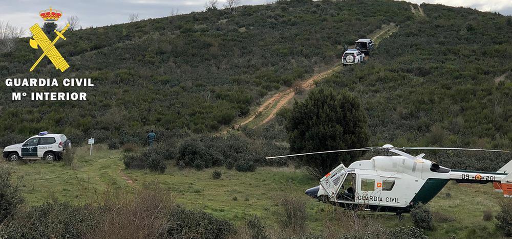 El SEPRONA, con el apoyo de Seguridad Ciudadana y del helicóptero del Cuerpo, ha incidido en la comarca del Arlanza, donde se ha detectado un mayor índice de furtivismo
