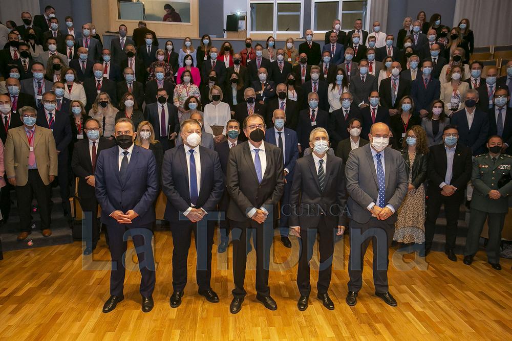 El ministro Grande-Marlaska inaugura la reunión anual de directores de centros penitenciarios