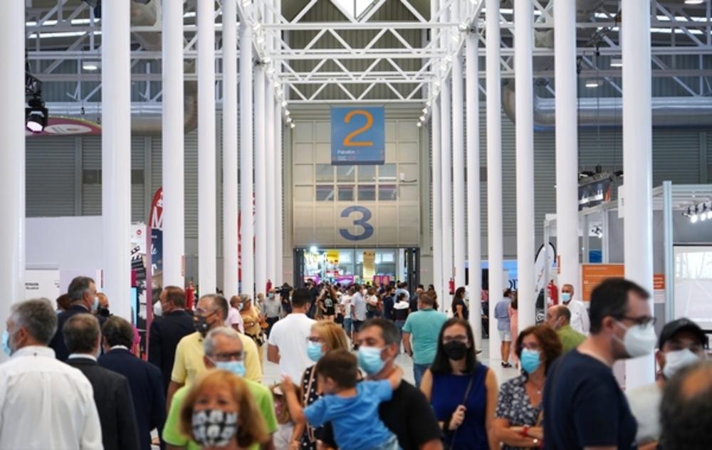 La Feria de Muestras reabre sus puertas.