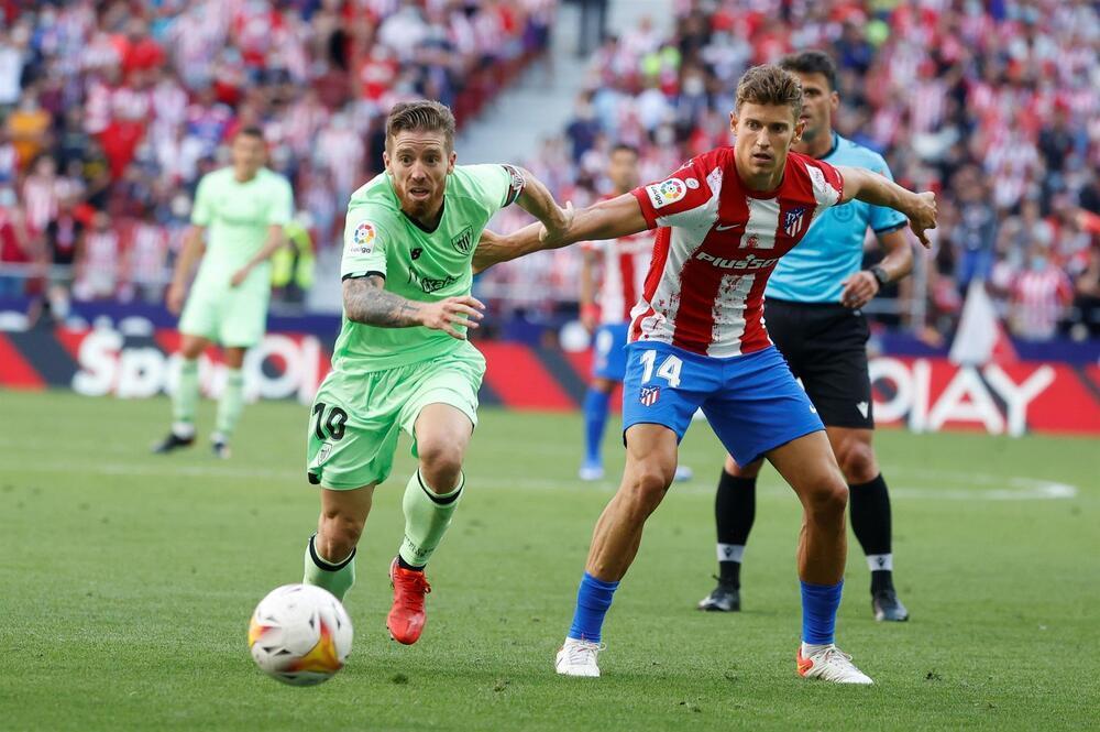 Atlético y Athletic empatan 0-0 con Joao Félix expulsado
