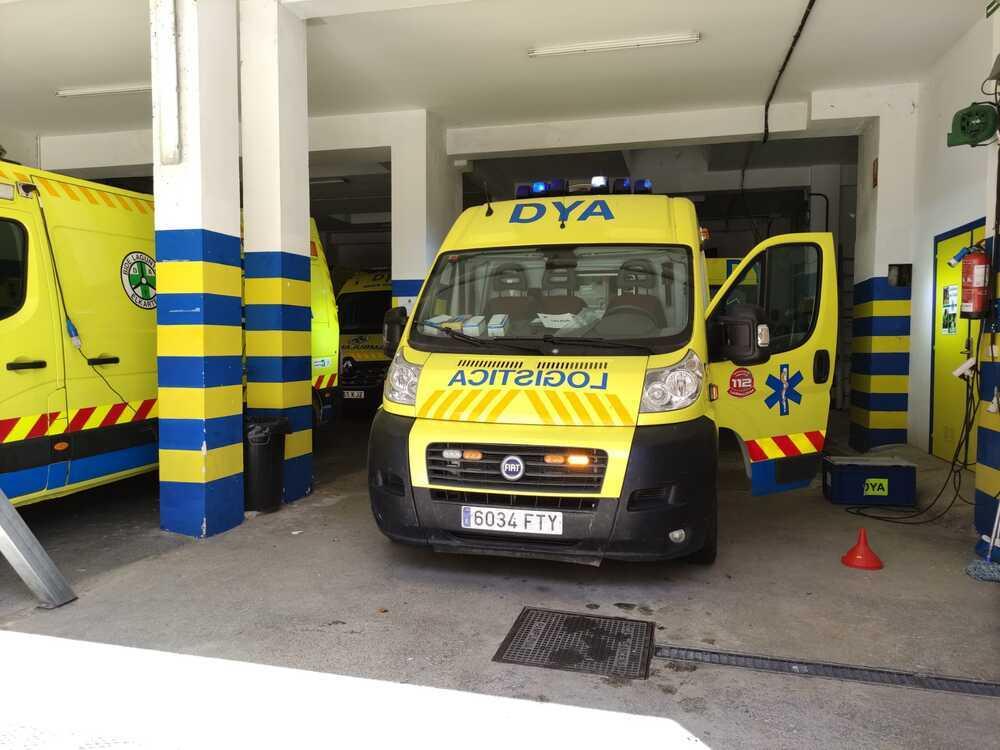 En marcha un nuevo vehículo de DYA Navarra para salvar vidas