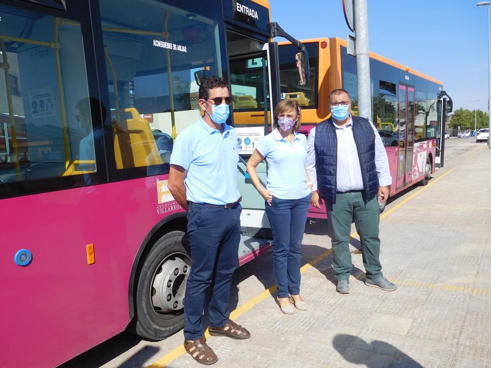 Restablecen los autobuses para estudiantes de Villarrobledo