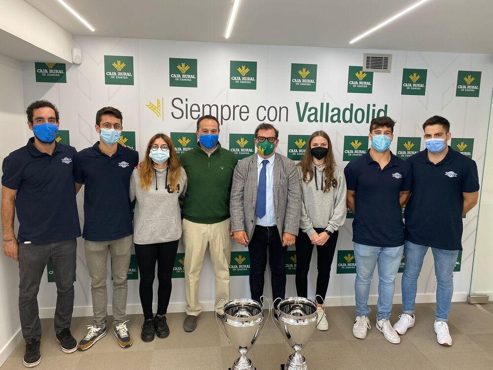 Ayuntamiento y Caja Rural de Zamora felicitan al CPLV