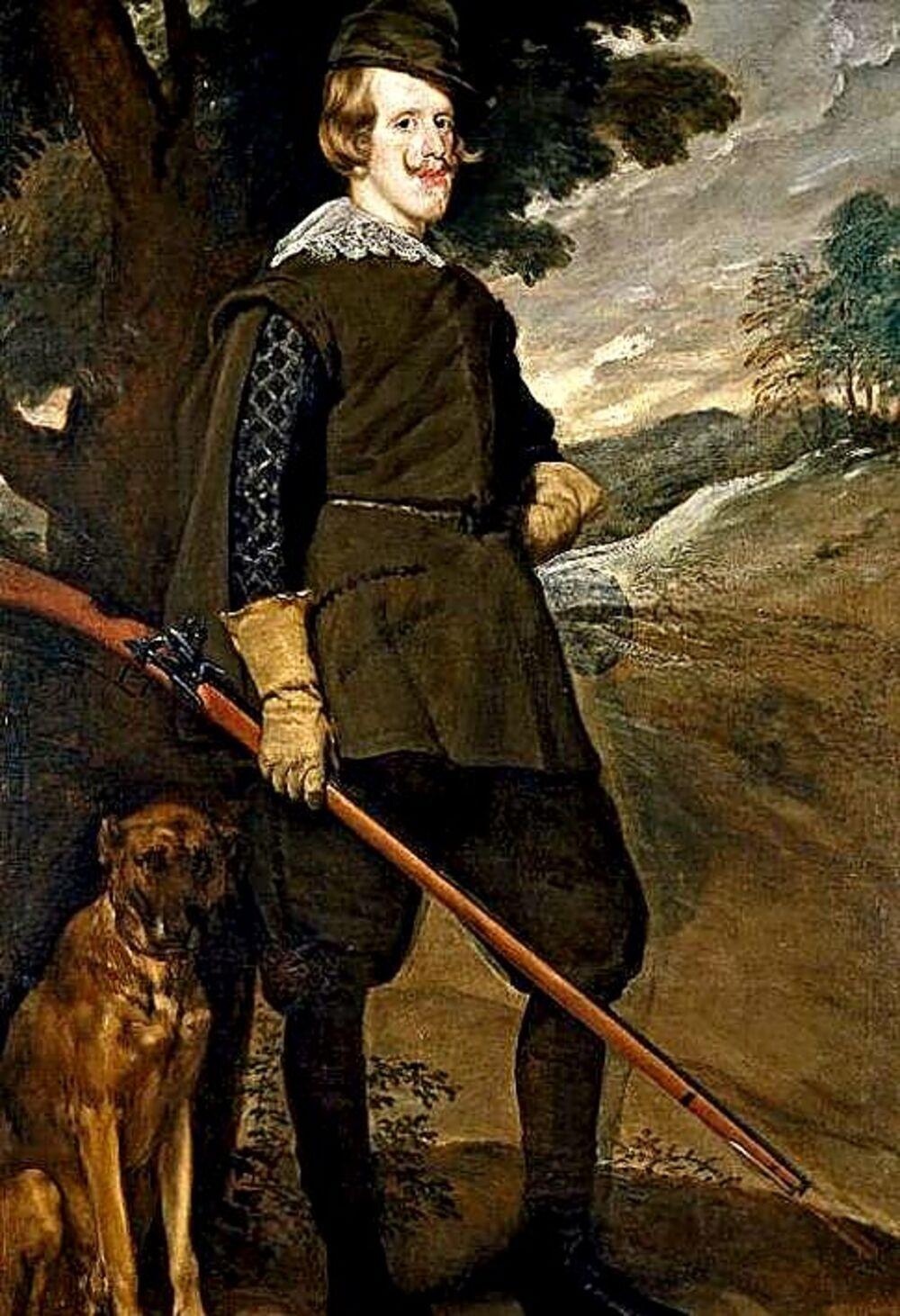 Felipe IV, gran aficionado al teatro, tuvo más de una amante artista y una treintena de hijos bastardos.