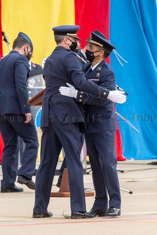 El coronel Peña Iglesias se pone al mando de Maestranza