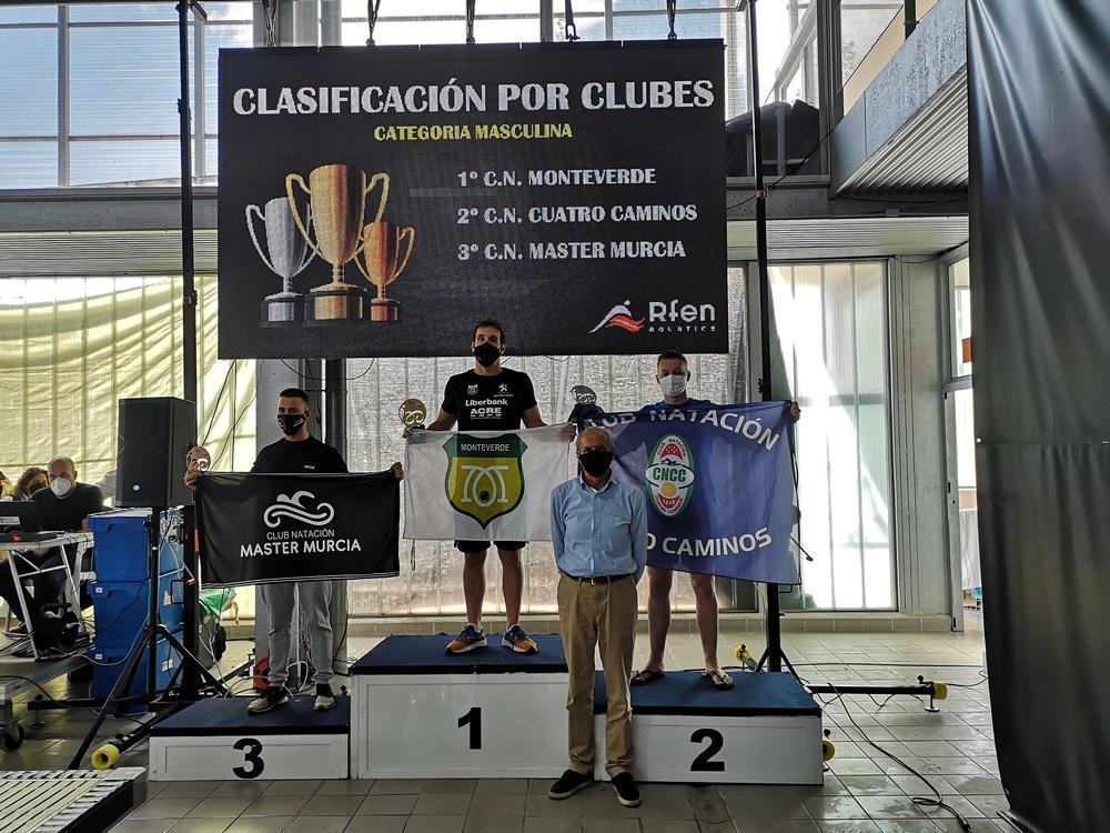 El Monteverde, campeón de España Máster