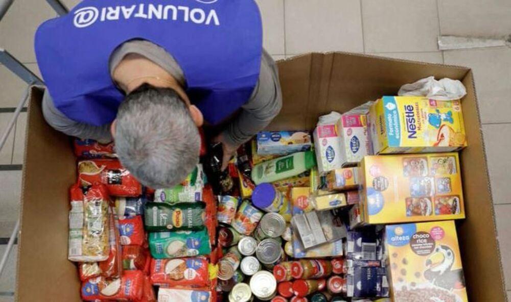 SOS del Banco de Alimentos ante la caída de donaciones