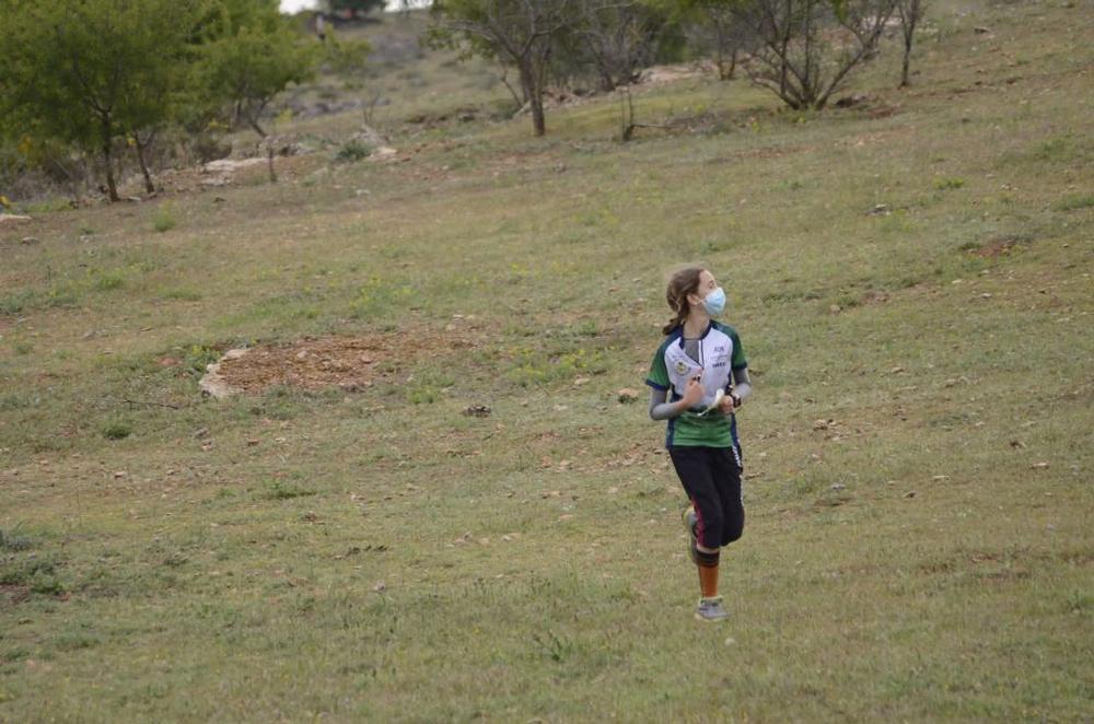 Una deportista, en un momento de la competición.