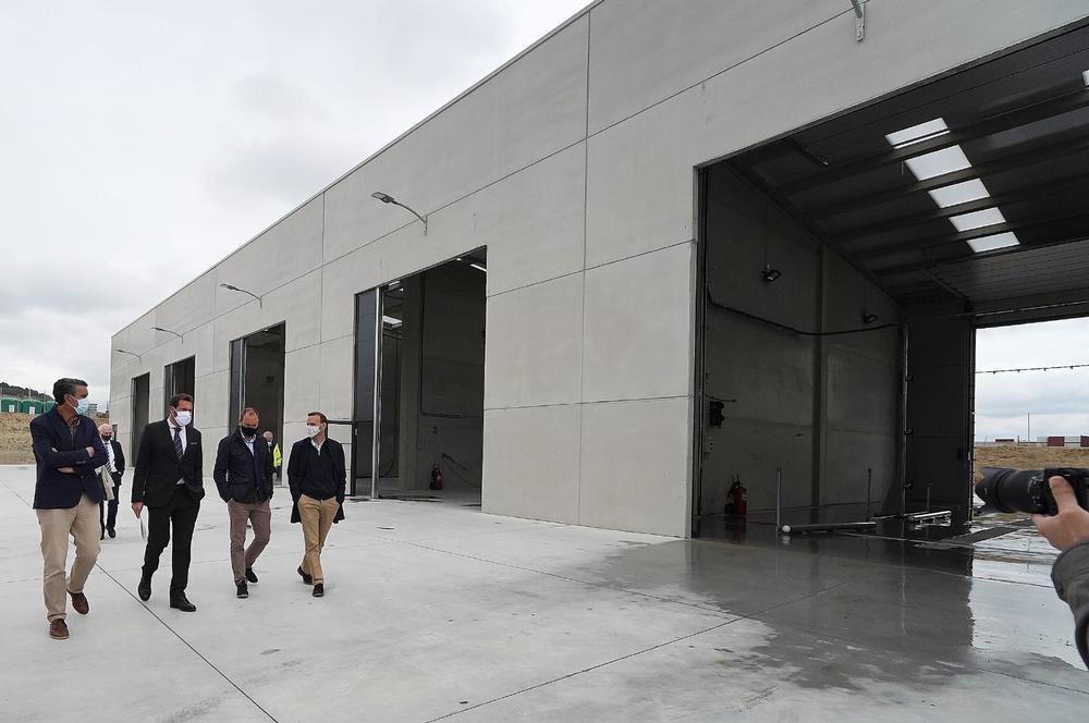 Nuevas instalaciones para el lavado de vehículos del Servicio de Limpieza en Valladolid