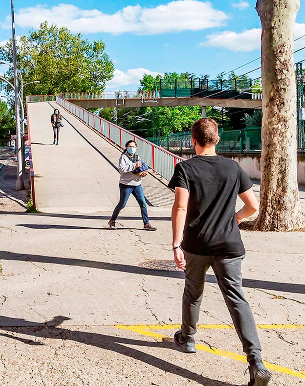 Mejoras peatonales y más zonas verdes para Pan y Guindas