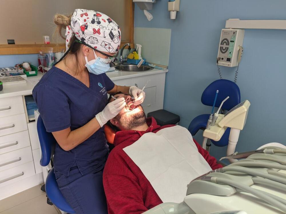 Seila Martínez, odontóloga.
