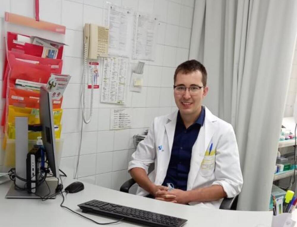 Carlos Hernando, médico internista.