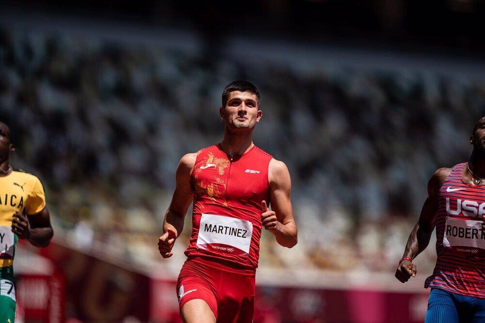 Asier Martínez, sexto en la final olímpica de 110 m vallas
